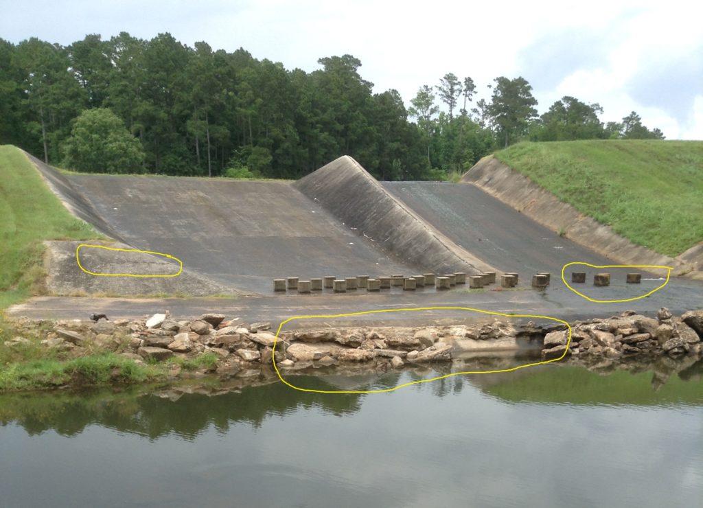 HLE Spillway Dam